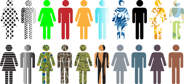 People generic silhouettes